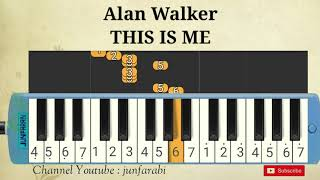 Alan Walker - THIS IS ME - pianika not
