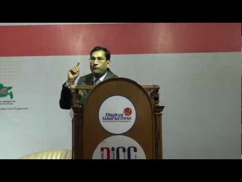 Digital World 2012- keynote by Badrul Khan - Dhaka, Bangladesh