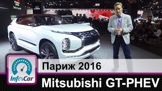 Mitsubishi GT PHEV  Каким будет новый кроссовер Мицубиши