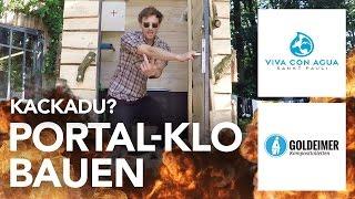 Komposttoilette (Portal-Klo) für Goldeimer/Viva Con Agua bauen - Heimwerkerking Fynn Kliemann