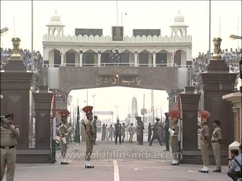 Border Security Force at the Wagah Border