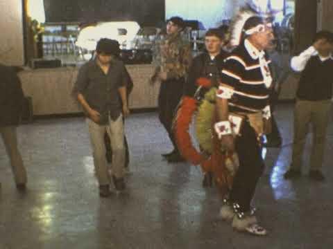 Inchelium High School Pow Wow Dance Class