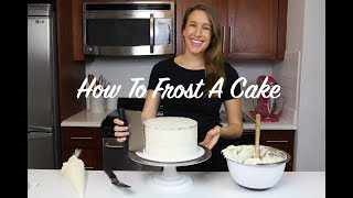How To Frost A Cake - A Beginner's Guide | CHELSWEETS