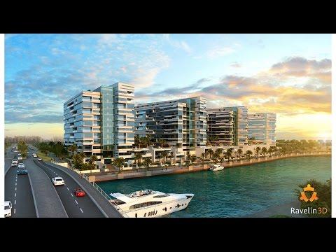 "3D visualization of Residental complex ""Lamar"", Dubai"