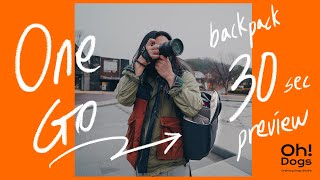One Go backpack 30초 | 원고백팩 PGY…