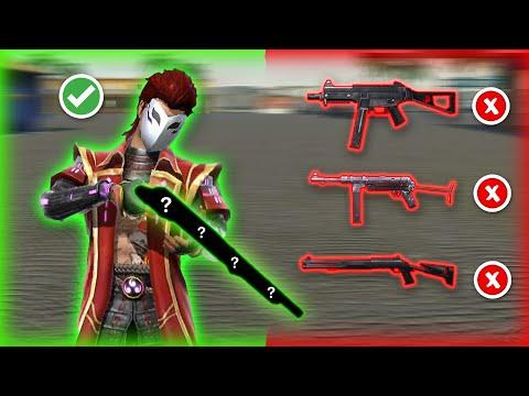 أفضل أسلحة للقريب بعد التحديث في فري فاير ..!