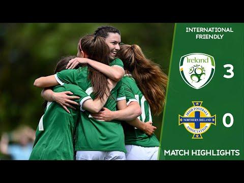 HIGHLIGHTS | Ireland WU19 3-0 Northern Ireland WU19
