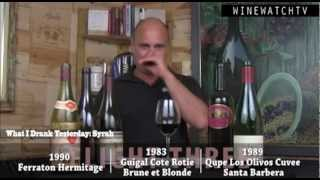 What I Drank Yesterday- Super Syrah Tasting Review