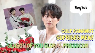 "Download [EngSub] Gulf Kanawut Suprises Mew Suppasit on His ""Season of You Global PressCon"" 080120"