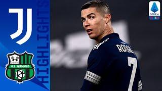 Juventus 3-1 Sassuolo | Ronaldo regala il gol della vittoria ai padroni di casa | Serie A TIM