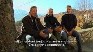 Le Cantu in paghjella profane et liturgique de Corse de tradition orale