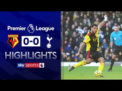 Gazzaniga saves Deeney penalty! | Watford 0-0 Tottenham | Premier League Highlights