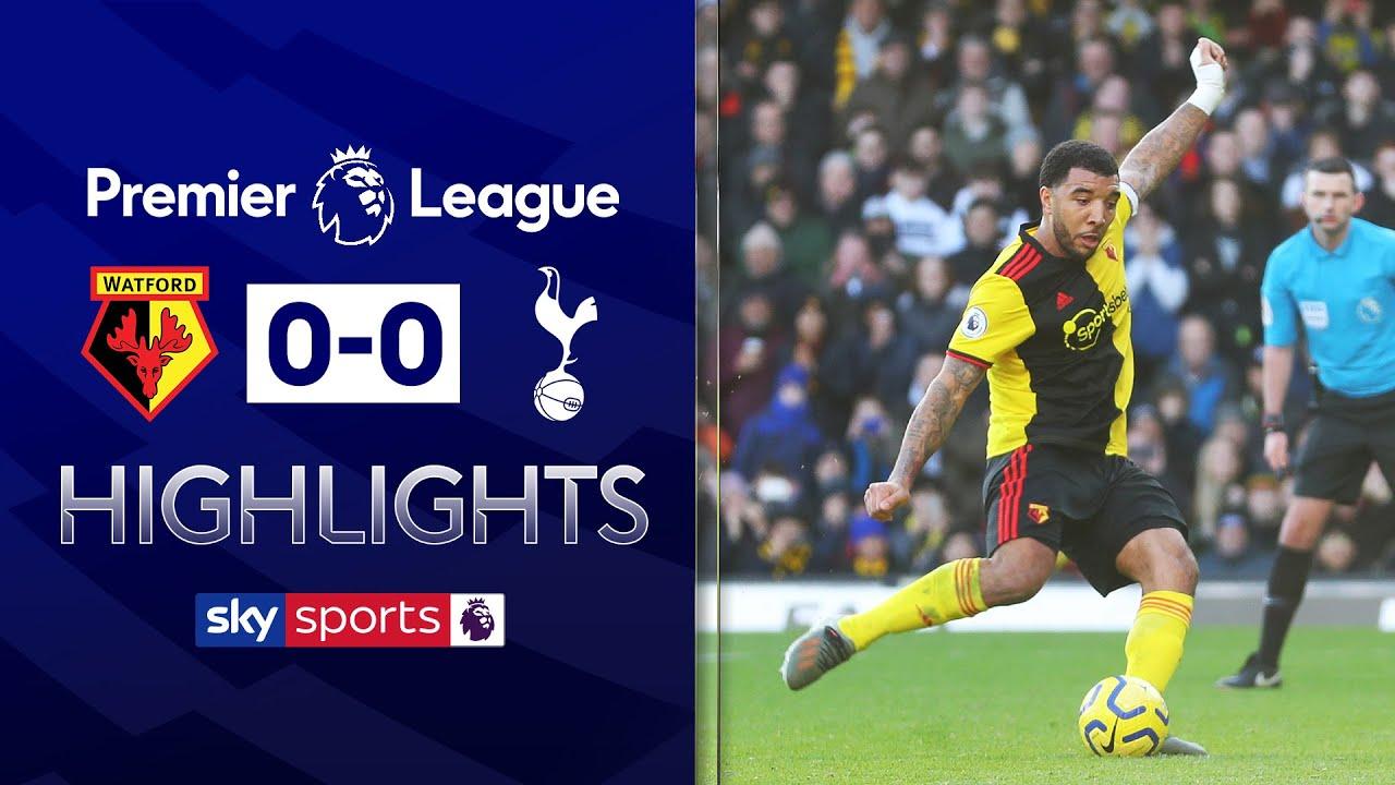 Gazzaniga saves Deeney penalty! | Watford 0-0 Tottenham | Premier League Highlights