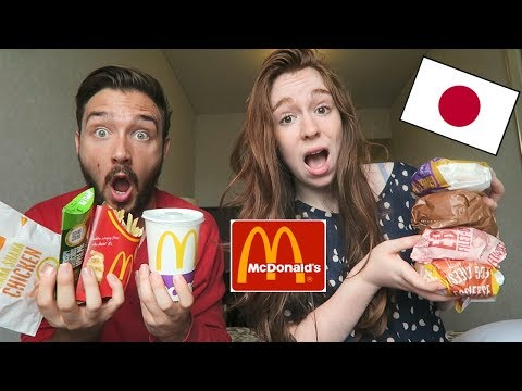 Dégustation Mcdonald's JAPONAIS en COUPLE ! Teriyaki McBurger & EBI FILET-O  !