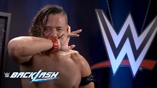 Shinsuke Nakamura educates Dolph Ziggler: WWE Backlash Exclusive, May 21, 2017