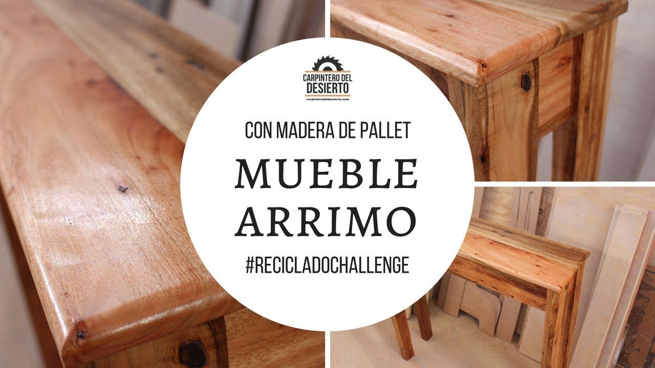 Como construir mueble con madera de pallet for Mueble realizado con palet de madera