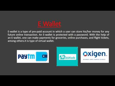 E Wallet & Recent RBI guideline-Video for SBI, IBPS Interview & Banking Awareness in Hindi