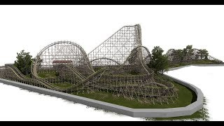 Loggin Boggins : Nolimits 2 : WWM Wooden Coaster