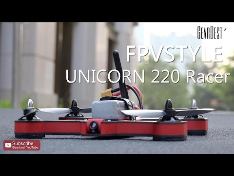 FPVSTYLE UNICORN 220 Professional Racer - Gearbest.com