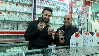 بامداد خوش - خیابان - دیدار سمیر صدیقی از زیورات فروشی کوچه مرغها