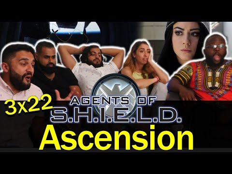 Agents Of Shield - 3x22 Ascension - Group Reaction