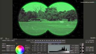 Creating Optical Scopes: Switching to Night Vision