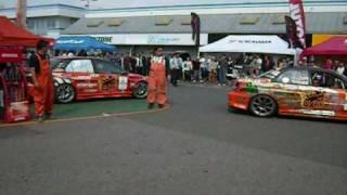 2009 ハイパーミーティング チームオレンジ デモランの模様です!!