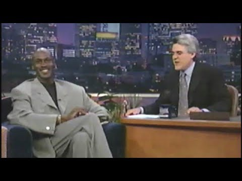 September 16, 1997 - Michael Jordan Interview - The Tonight Show Jay Leno