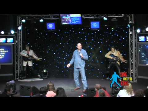 Garry Bigwood - I Really Don't Want To Know - (Elvis Contest at Big Mama's Karaoke Cafe)
