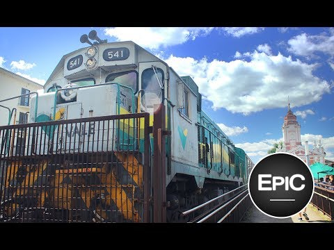 Trem da Vale: Ouro Preto-Mariana - Brasil (HD)