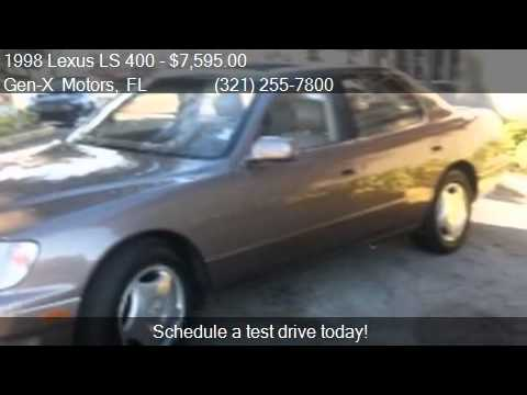 1998 Lexus Ls 400 Base 4dr Std Sedan For Sale In Melbourne