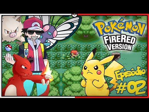 Pokémon Fire Red Let39;s Play 2: Procurando Pikachu Tretoso