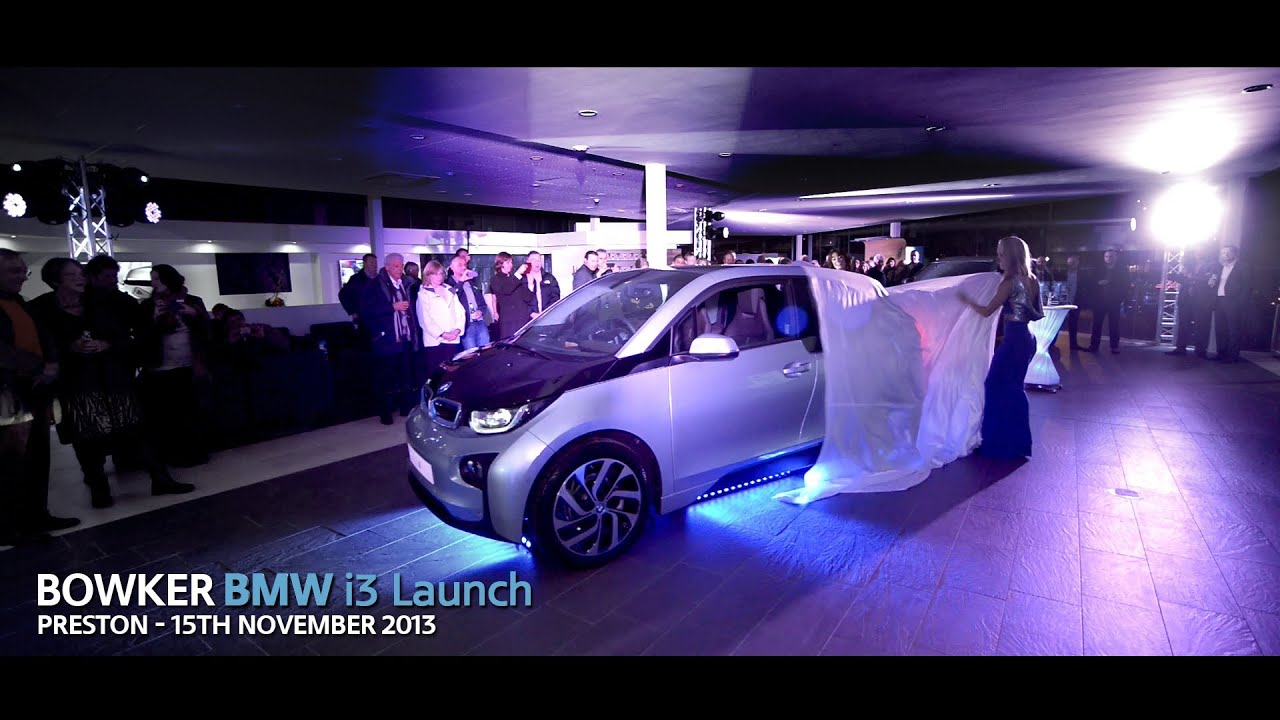 Bowker BMW i3 Launch Party  15th November 2013  YouTube