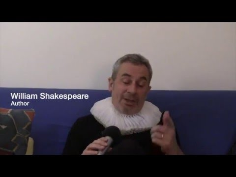 An interview with William Shakespeare