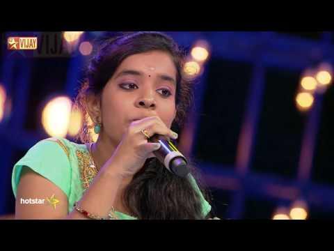 Super Singer Junior - Kannan Vanthu Paadugindran By Shree Raksha And Thushara