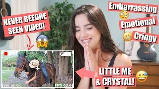 REACTING To My HIGHSCHOOL FILM Assignment! | My First Equestrian Video Ever!!