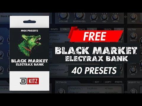"FREE Tone2 Electra 2 & ElectraX Presets | ""BLACK MARKET"