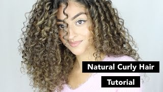 Natural Curly Hair Tutorial | Amrani & Roy