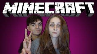 Minecraft с Девушкой - Учимся Играть