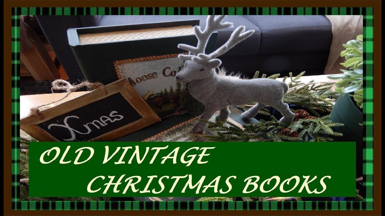 MAKING OLD WOODEN  BOOKS INTO CHRISTMAS BOOKS II DIY I II REMODEL II  2019 II