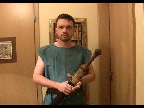 Ave Caesar. Morituri Te Salutant SPQR Gladiator Theatrum Illuminatum