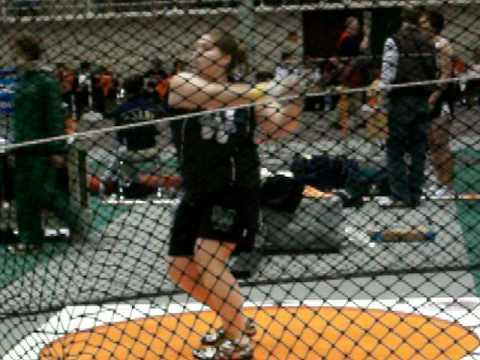 Alyssa McMullen Weight Throw #1 ONU 2/27/09