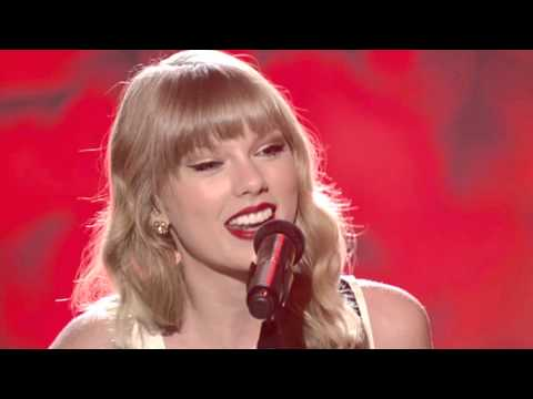 taylor-swift-begin-again-live-performance-vh1-storytellers-2013-ama-europe-music-awards-ema-red