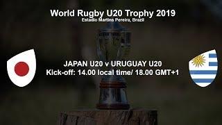 world rugby u20 trophy 2019 japan u20 v uruguay u20