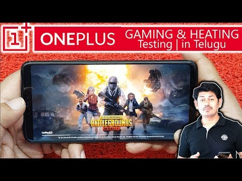 Oneplus 6 Gaming and Heating Testing | in Telugu ~Tech-Logic