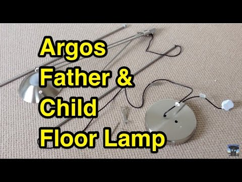 Argos home father and child uplighter floor lamp youtube argos home father and child uplighter floor lamp aloadofball Images