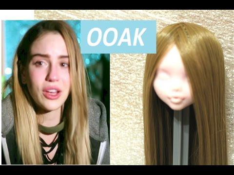 МАРЬЯНА РО ООАК Монстер Хай ООАК как сделать парик для куклы