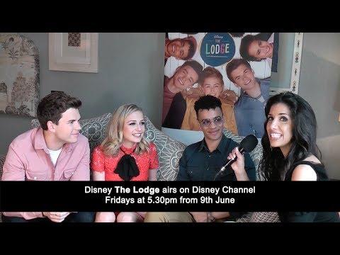 Interview: Sophie Simnett, Luke Newton, Josh Sinclair-Evans   The Lodge (The Fan Carpet)