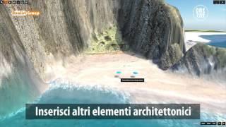 Rendering e Animazione 3D di un Lido Balneare con OneRay-RT