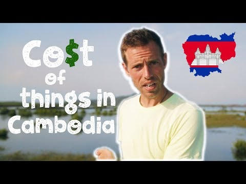 🇰🇭 Cost Of Things In Cambodia 💰